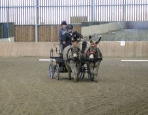 Rikita & Sarah competing at Sparsholt EC - IDHT Event